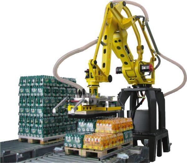 robots paletizadores